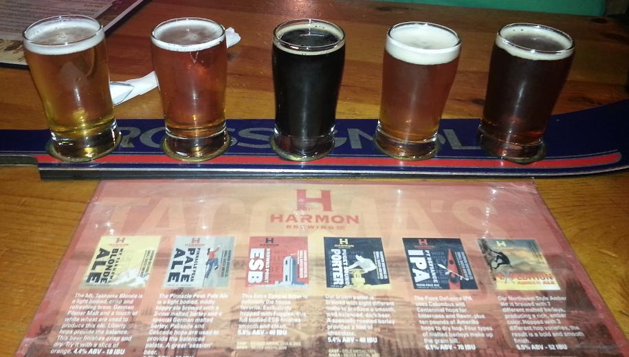Harmon Brewing Company Sampler
